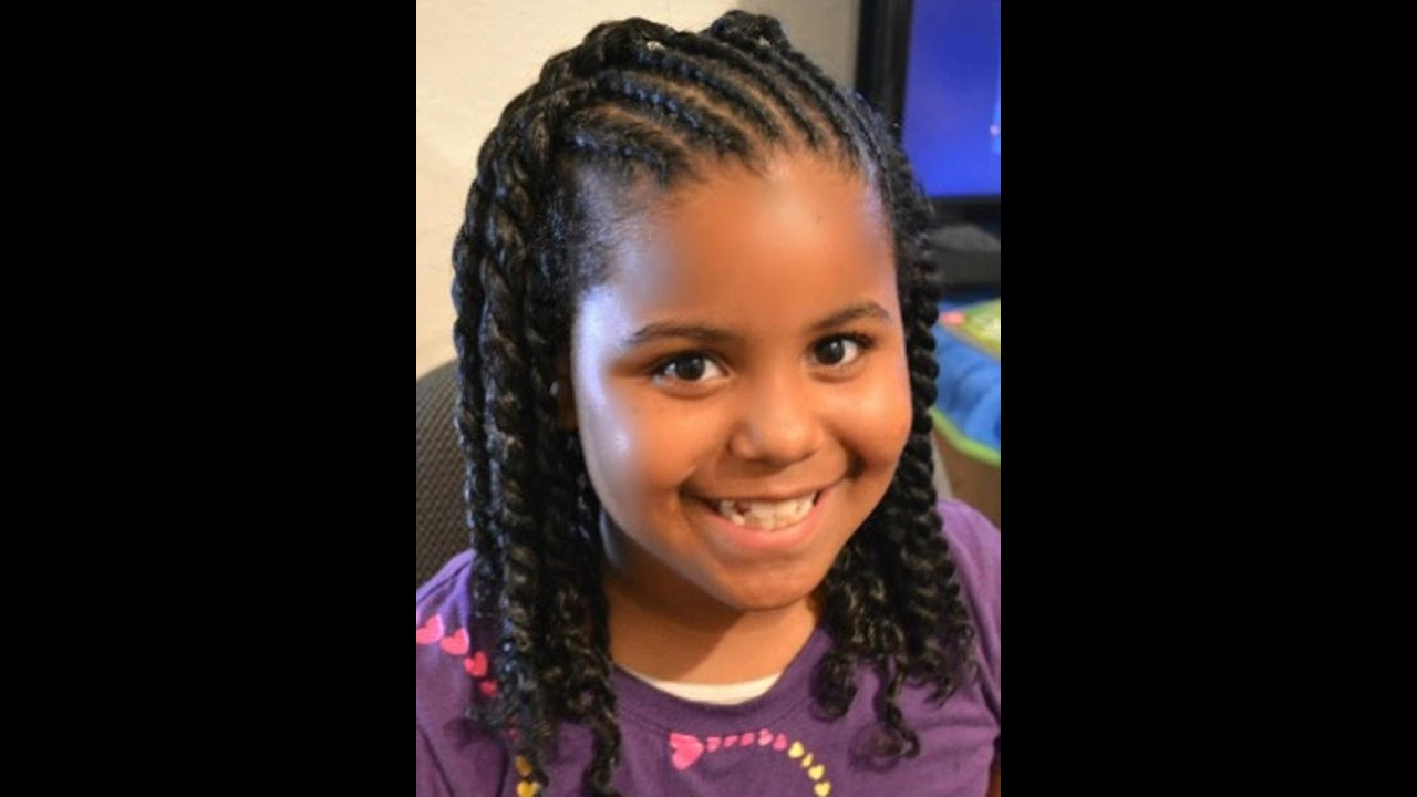 Kids Hairstyles Braids For Girls & Kids | Pictures Of Cute Black Intended For Hairstyles For Black Teenage Girl With Short Hair (View 17 of 25)