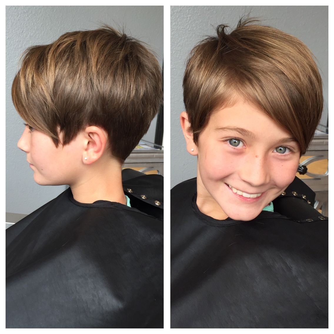 Kids Pixie Haircut | Hair In 2018 | Pinterest | Hair, Hair Cuts And Within Kids Short Haircuts With Bangs (View 10 of 25)