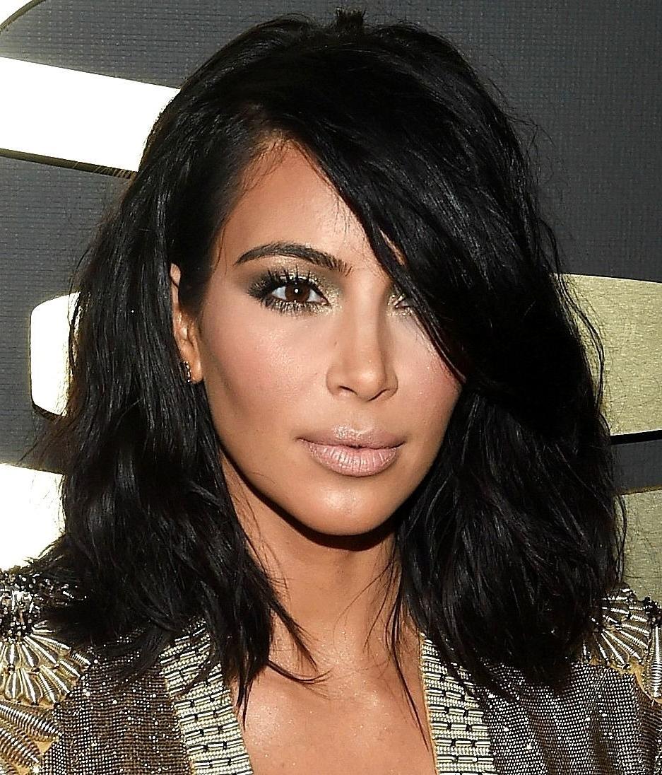 Kim K Haircut Unique Pinterest Deborahpraha A™¥ Kim Kardashian Short Inside Kim Kardashian Short Hairstyles (View 9 of 25)