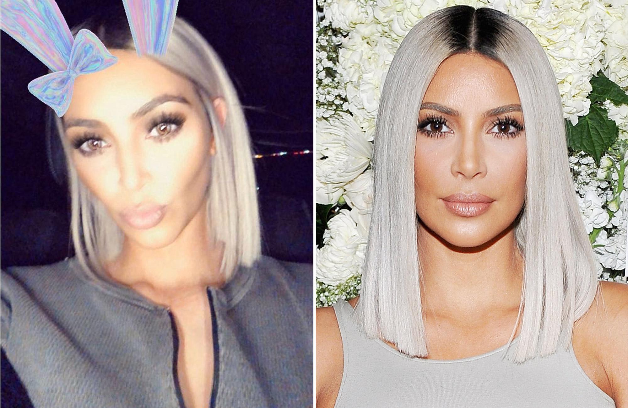 Kim Kardashian Chops Hair Into Shorter Bob | People Intended For Kim Kardashian Short Haircuts (View 8 of 25)
