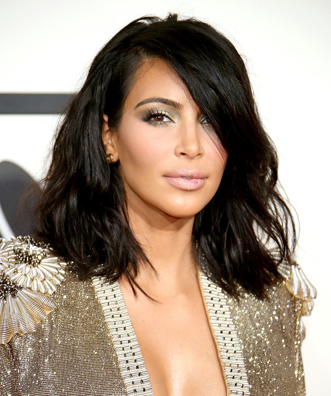 Kim Kardashian's Best Hairstyles Ever – Us Weekly Inside Kim Kardashian Short Hairstyles (View 3 of 25)