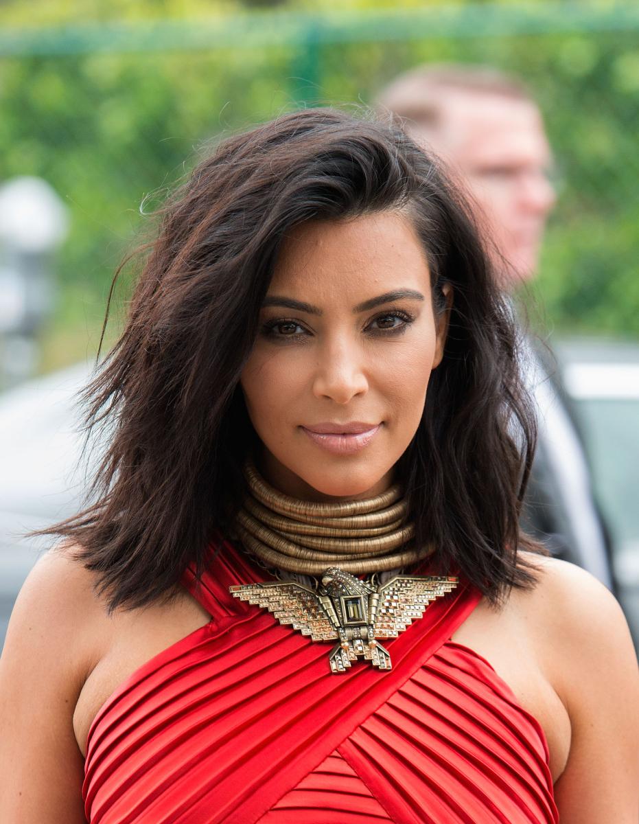 Kim Kardashian's Hair Stylist Tells Us About That New Short Cut Throughout Kim Kardashian Short Haircuts (View 23 of 25)