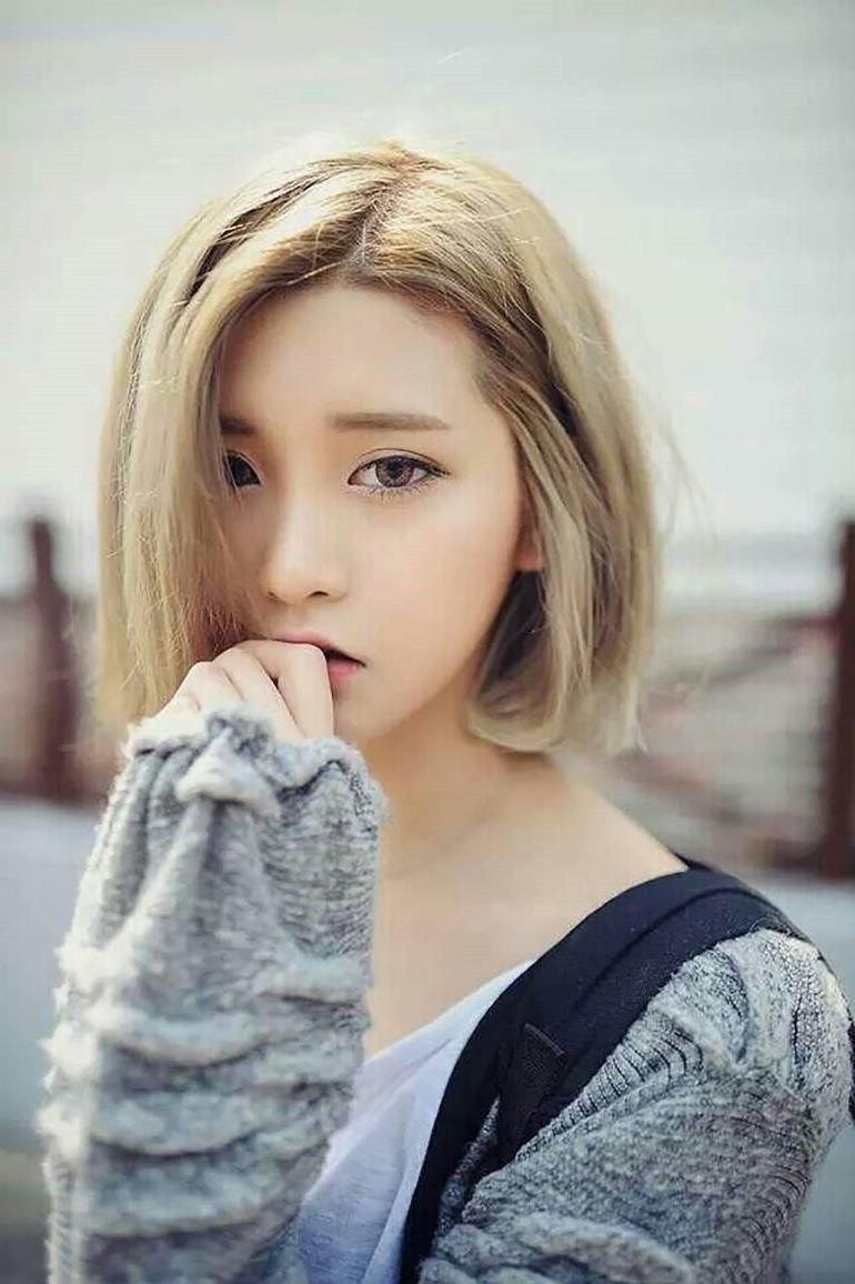 Korean Teenage Girl Short Hair 2017 – Styles Art |  (View 6 of 25)
