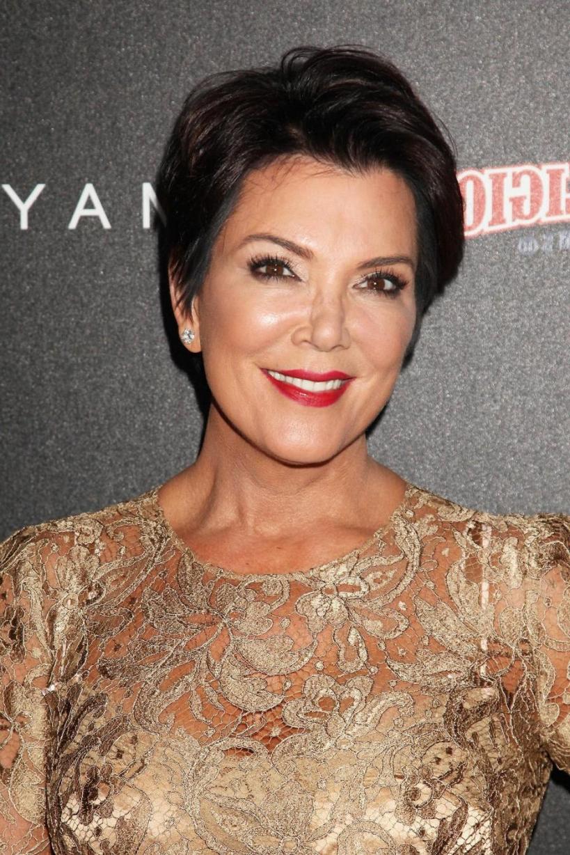 Kris Jenner And Her Short Layered Haircut – Hair World Magazine Regarding Kris Jenner Short Hairstyles (View 14 of 25)