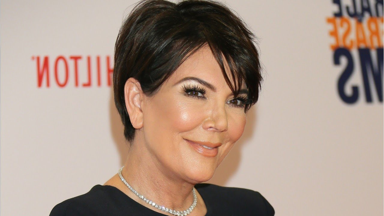 Kris Jenner Copied Kim's Platinum Blonde Hair – Youtube Intended For Short Haircuts Kris Jenner (View 10 of 25)