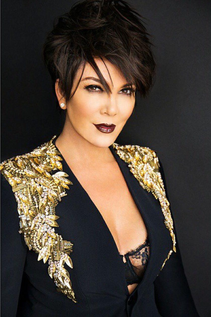 Kris Jenner — Pics | Girl You Rock | Pinterest | Kris Jenner, Jenner Inside Short Haircuts Kris Jenner (View 24 of 25)