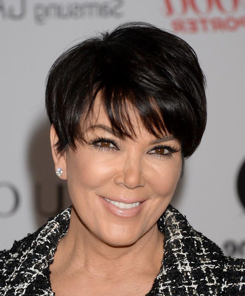 Kris Jenner Short Cut With Bangs   Pinterest   Kris Jenner, Short For Kris Jenner Short Hairstyles (View 7 of 25)