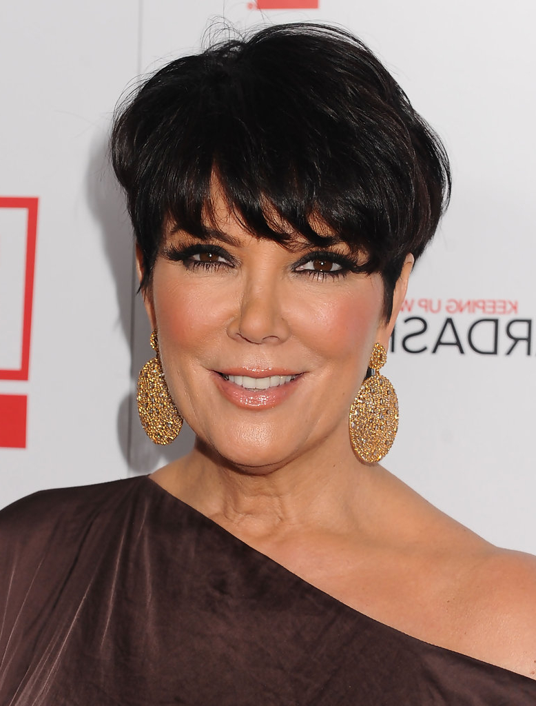 Kris Jenner – Short Hair Styling Ideas Straight From The Celebs Within Short Haircuts Kris Jenner (View 9 of 25)