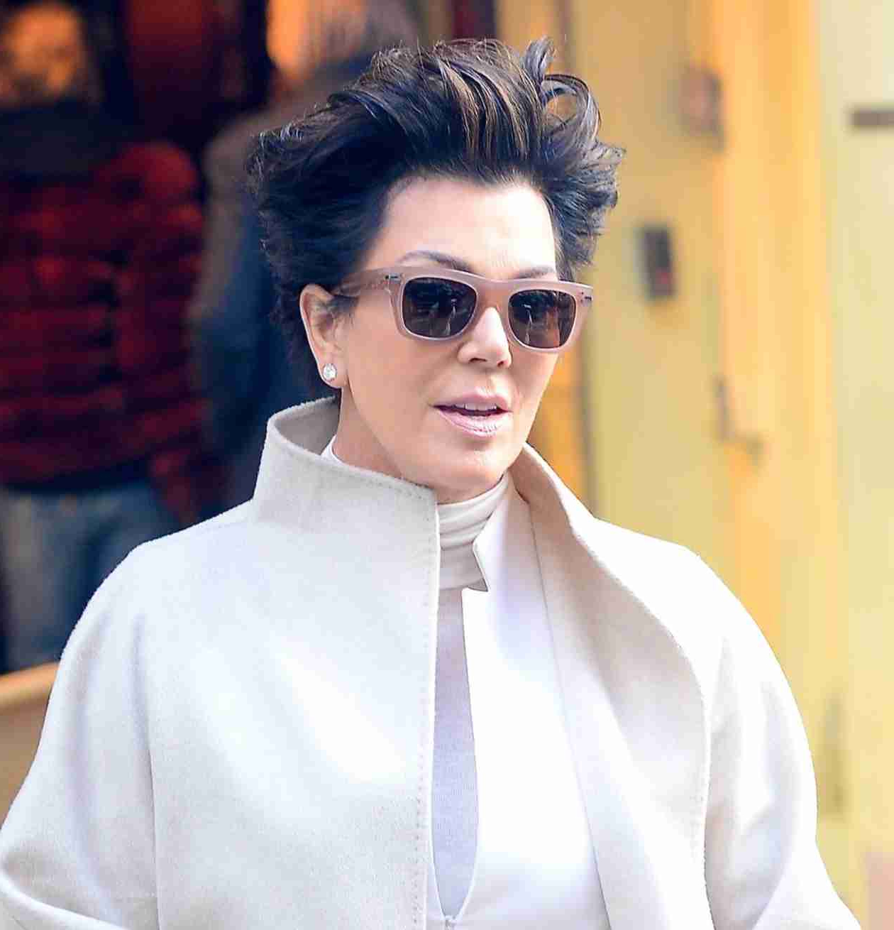 Kris Jenner Shows Off Crazy New Hairstyle While Wearing The Same Regarding Short Haircuts Kris Jenner (View 18 of 25)