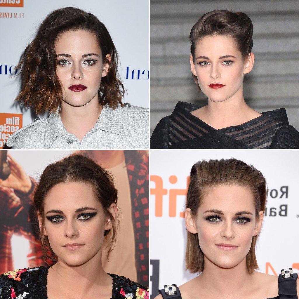 Kristen Stewart Short Hair Bob Pictures | Popsugar Beauty Australia Within Kristen Stewart Short Hairstyles (View 11 of 25)