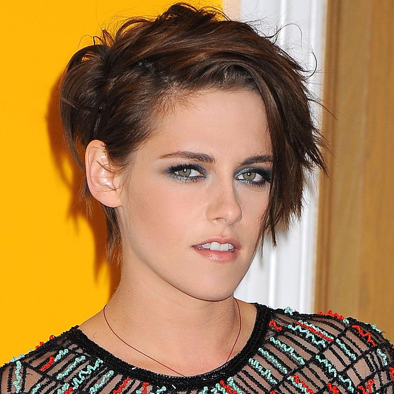 Kristen Stewart's New Rocker Haircut – Kristen Stewart Haircut Inside Kristen Stewart Short Hairstyles (View 4 of 25)