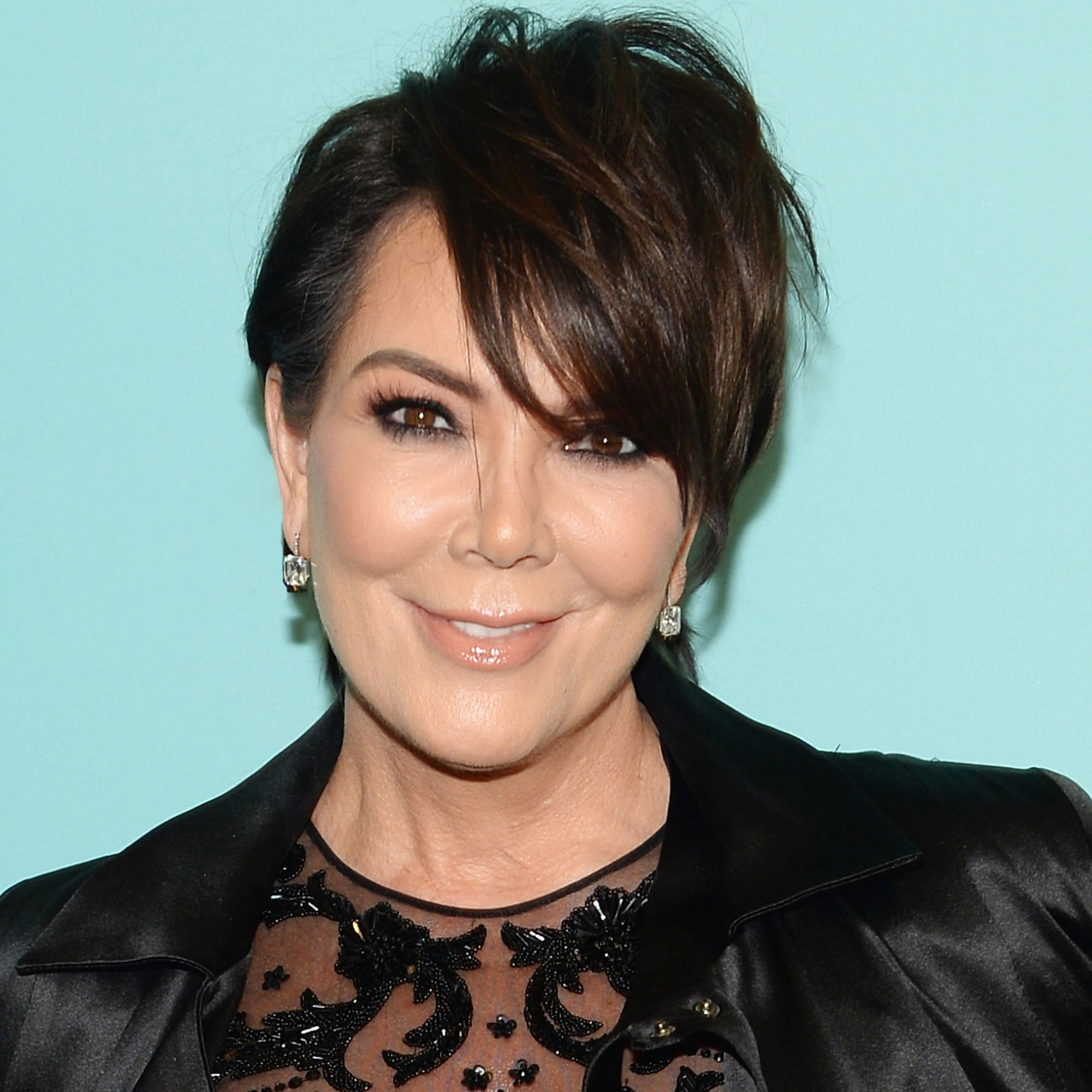 Kuwtk Kris Jenner Talks About Kylie, Khloe Pregnancies Throughout Kris Jenner Short Hairstyles (View 21 of 25)