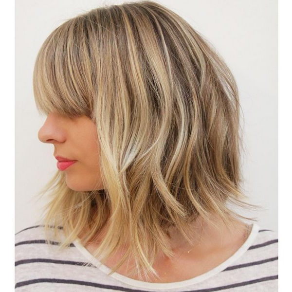 La Stylist Advice For Fall Hair Trends Pertaining To Undercut Bob Hairstyles With Jagged Ends (View 5 of 25)