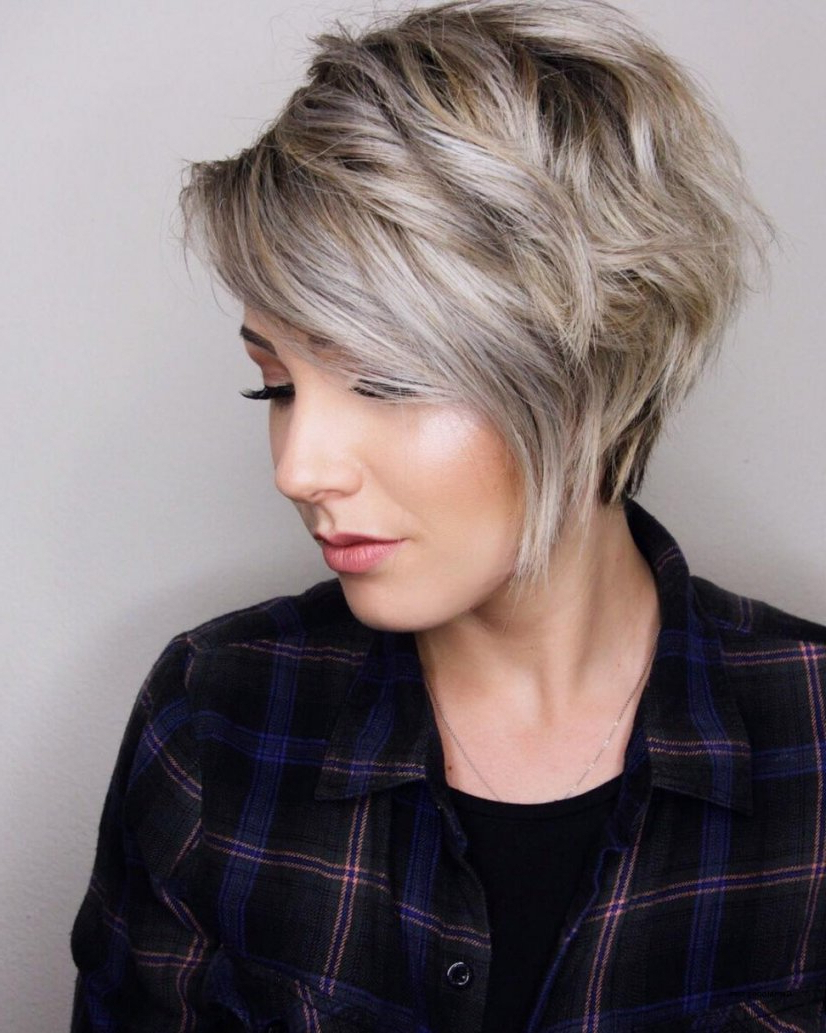 Ladies Short Hairstyles For Thick Hair Uk » Best Hairstyles For Ladies Short Hairstyles For Thick Hair (View 9 of 25)