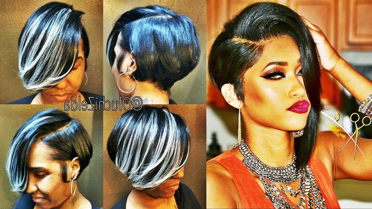 Latest 30 Showiest Bob Haircuts For Black Women – Youtube Within Black Bob Short Hairstyles (View 11 of 25)
