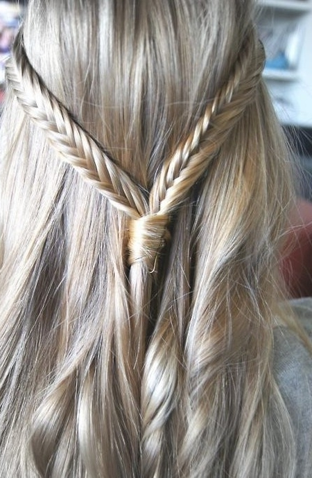 Latest New Waterfall Braid – A New Stylish Cascade/waterfall Braid For Cascading Braided Ponytails (View 19 of 25)