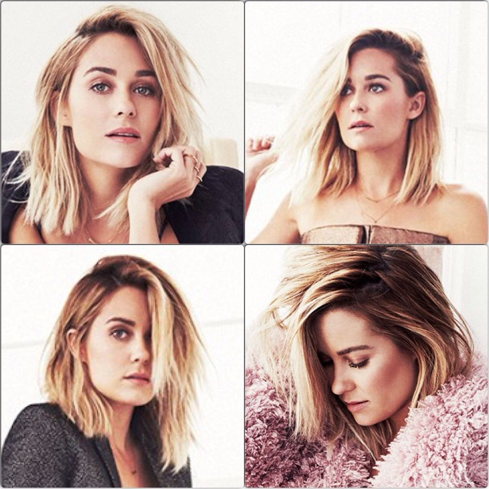Lauren Conrad New Haircut | Pretty Hair Don't Care In 2018 Inside Lauren Conrad Short Hairstyles (View 2 of 25)
