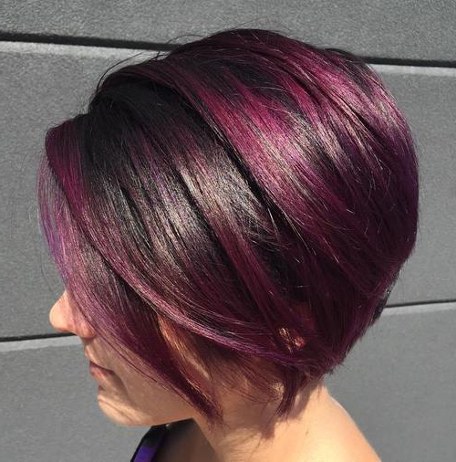 Lavender Bob 1 – Popular Haircuts In Choppy Brown And Lavender Bob Hairstyles (View 5 of 25)