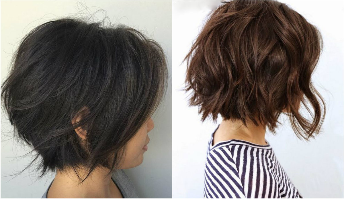 Layered Bob Haircuts Ideas For Thin Hair | Hairdrome For Shorter Black Messy Hairstyles (View 19 of 25)