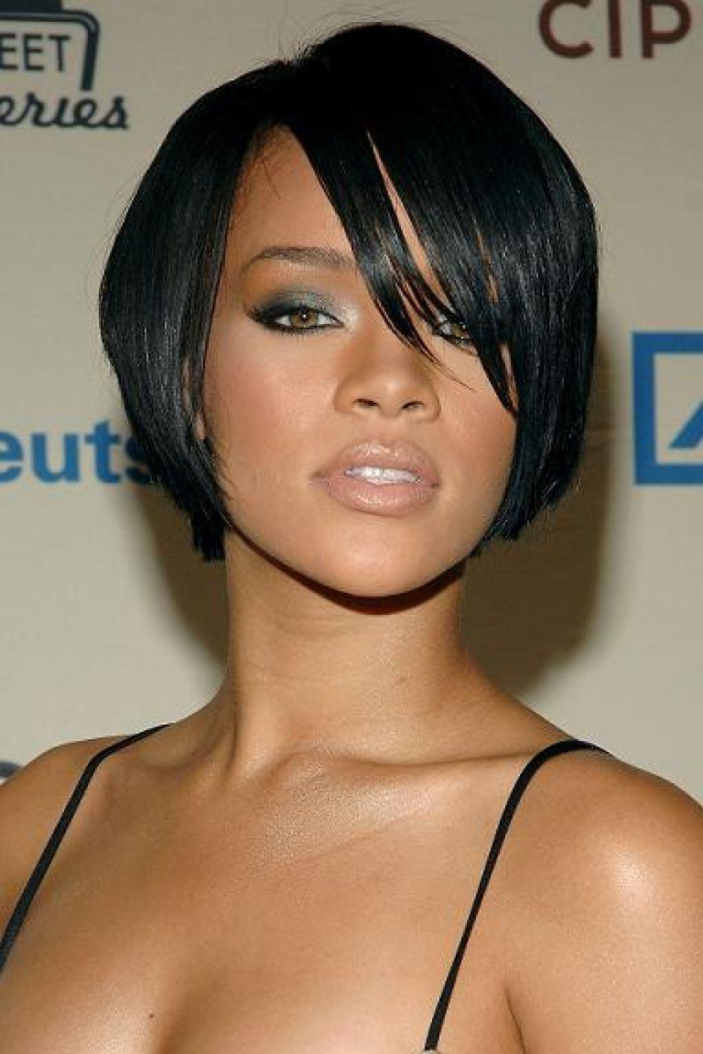 Layered Bob Hairstyles Black Women Women Medium Haircut Black Hair Pertaining To Bob Short Hairstyles For Black Women (View 17 of 25)