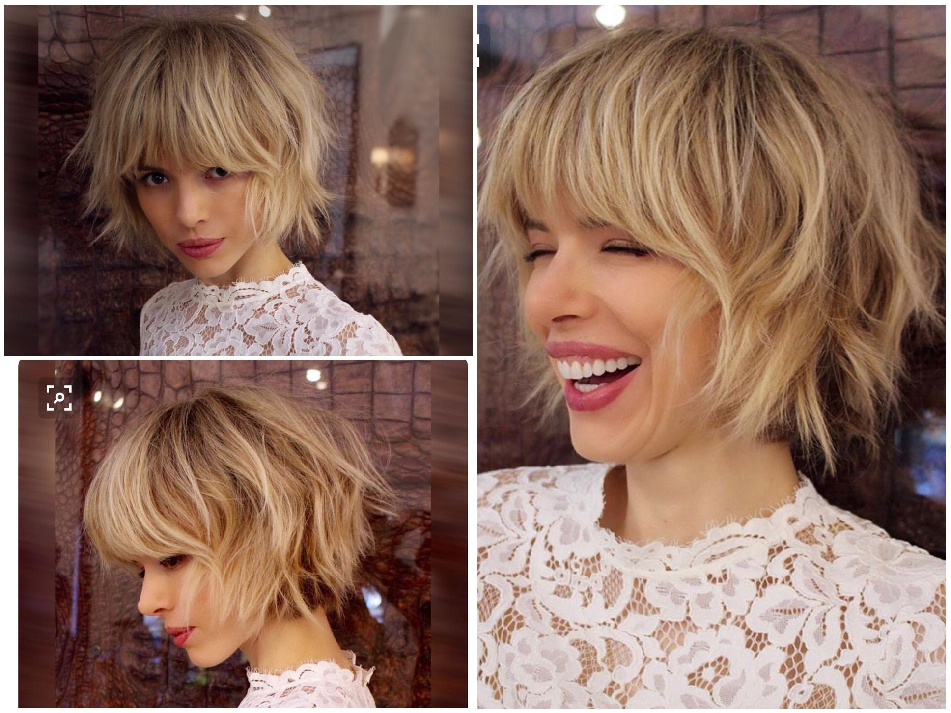 Layered Bob With Some Fringe/bang. Could Be Pretty Versatile (View 5 of 25)