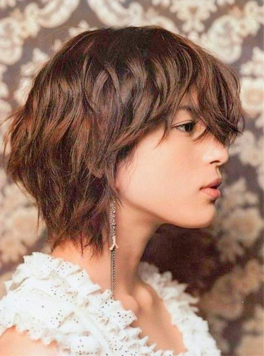 Layered Short Haircuts – Hairstyles Ideas With Regard To Layered Short Hairstyles With Bangs (View 22 of 25)