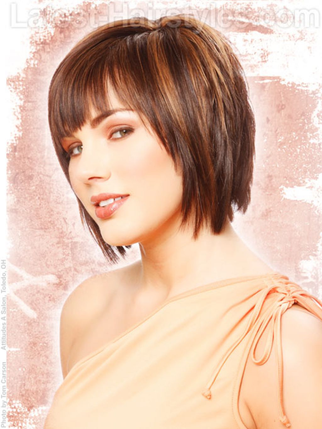 Layered Short Hairstyles For Women Women Shorts Shorts And Short With Regard To Layered Short Hairstyles With Bangs (View 23 of 25)