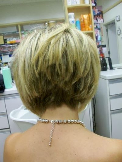Layered Stacked Bob Haircut Photos Front And Back – Yahoo Search In Stacked Choppy Blonde Bob Haircuts (View 2 of 25)
