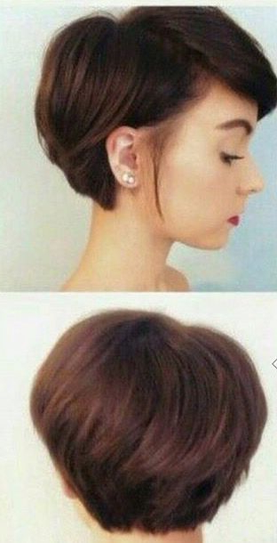 Letting The Front Of Your Hair Grow, While Keeping The Length Short With Stylish Grown Out Pixie Hairstyles (View 7 of 25)