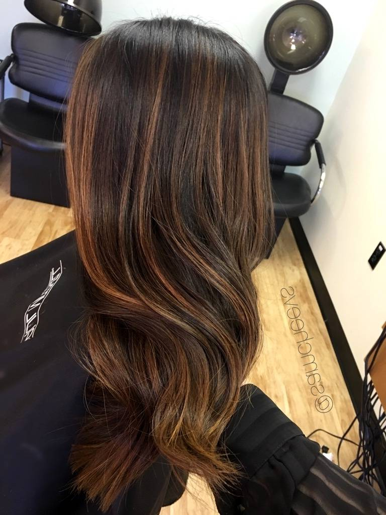 Light Brown Highlights On Black Curly Hair – Hairhighlights (View 19 of 25)