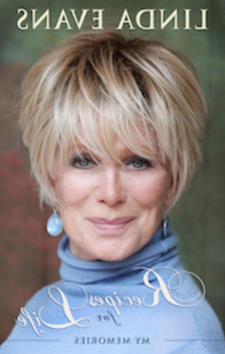 Linda Evens, I'm Liking Her Ne | <Br/> Hairsty | Frizurák In 2018 In Choppy Short Hairstyles For Older Women (View 2 of 25)
