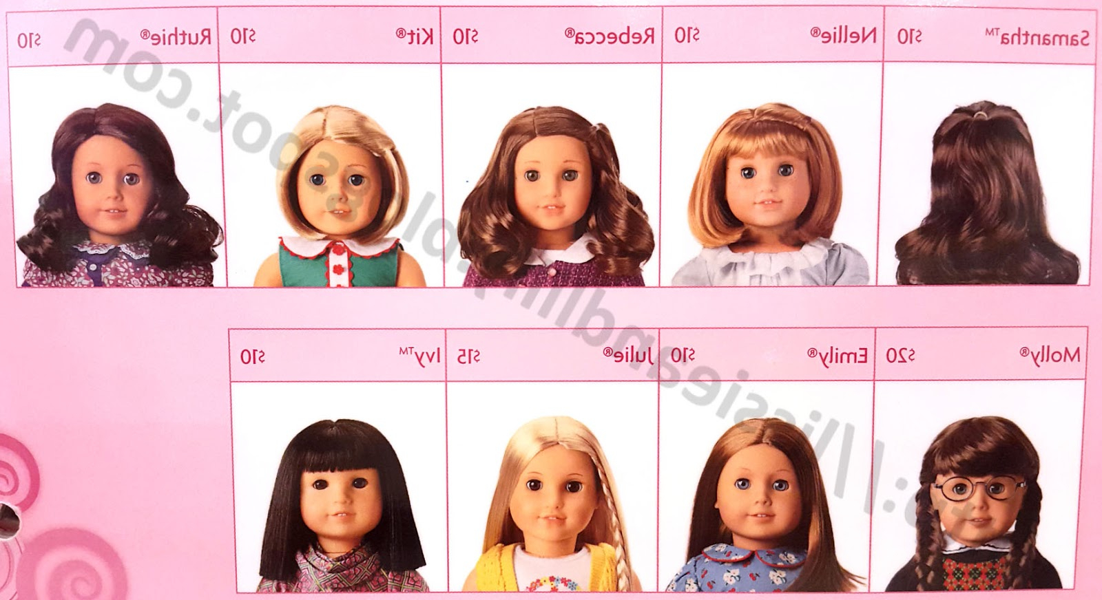 Lissie & Lilly: Ag Salon Hairstyles For Hairstyles For American Girl Dolls With Short Hair (View 22 of 25)