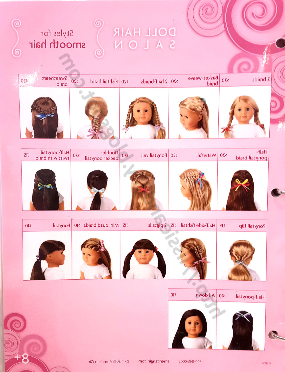Lissie & Lilly: Ag Salon Hairstyles With Hairstyles For American Girl Dolls With Short Hair (View 3 of 25)
