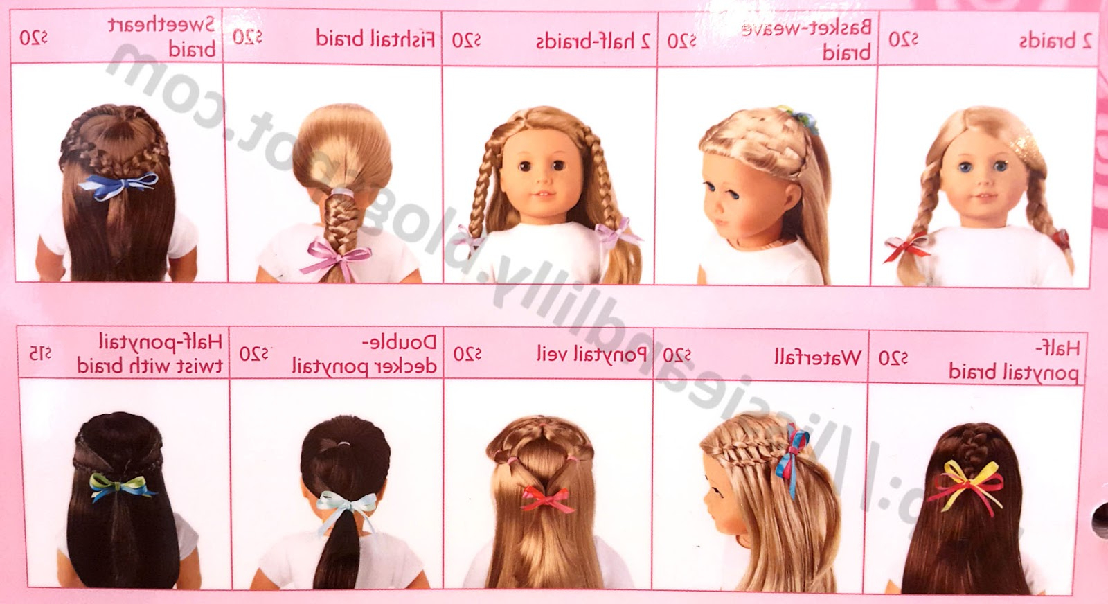Lissie & Lilly: Ag Salon Hairstyles Within Hairstyles For American Girl Dolls With Short Hair (View 8 of 25)