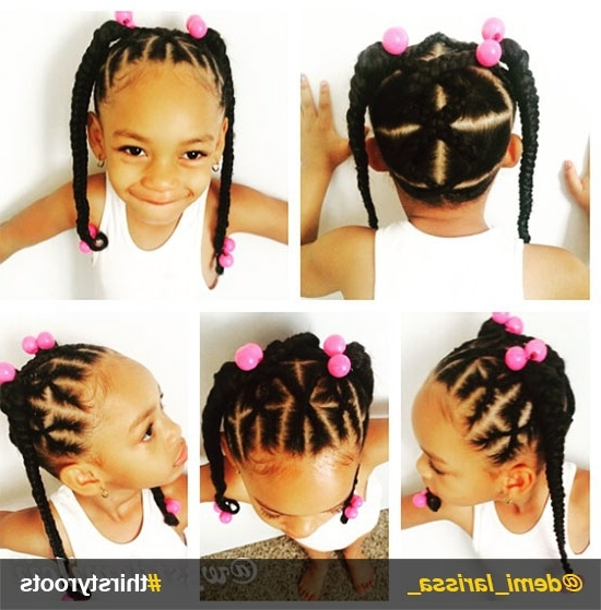 Little Black Girl Ponytail Hairstyles (View 21 of 25)