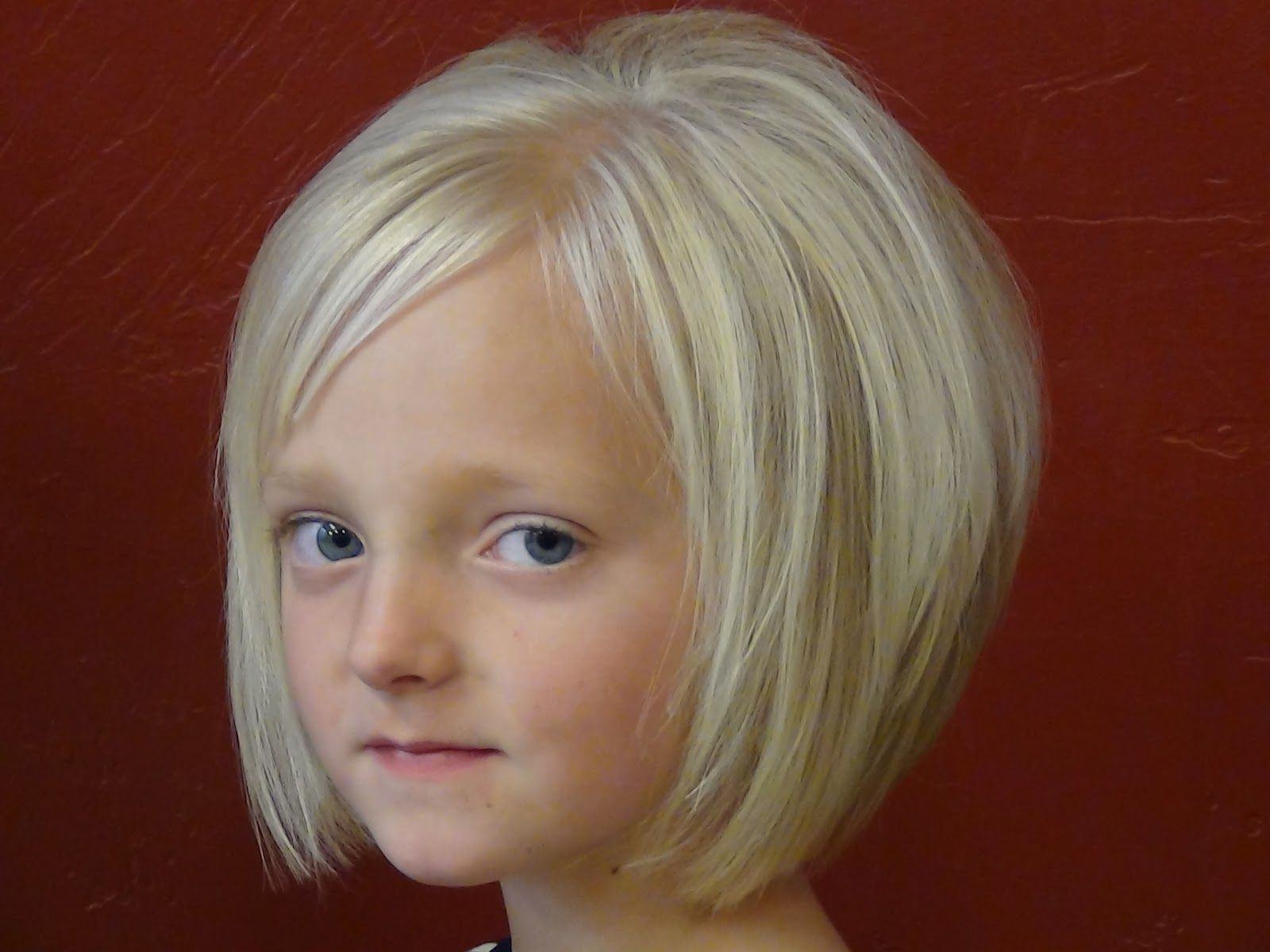 Little Girls Short Haircuts For Thick Hair – Short Hairstyles With Pertaining To Short Haircuts Bobs Thick Hair (View 19 of 25)