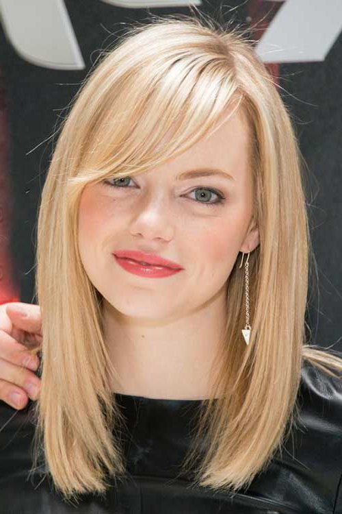 Long Bob With Bang … | Hairstyles In 2018 | Pinterest | Hair, Hair Within Textured Bob Haircuts With Bangs (View 10 of 25)