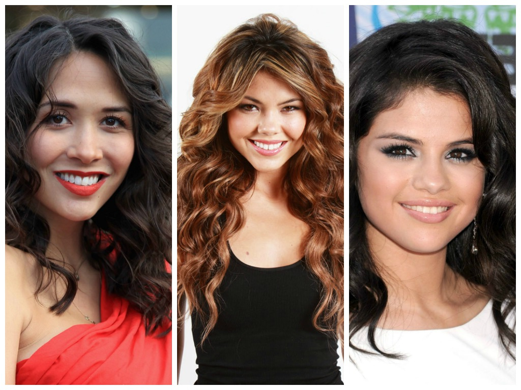 Long Curly Hairstyles For A Round Face – Hair World Magazine Regarding Short Haircuts For Round Faces With Curly Hair (View 17 of 25)