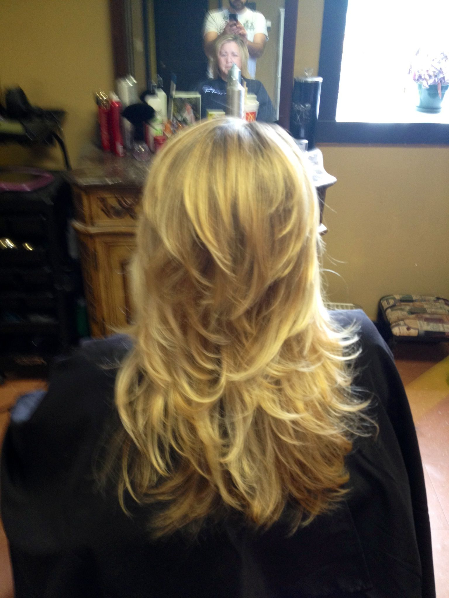 Long Hair Short Layers (Little Too Much For My Thin Hair Tho) | Hair Pertaining To Long Hair Short Layers Hairstyles (View 3 of 25)