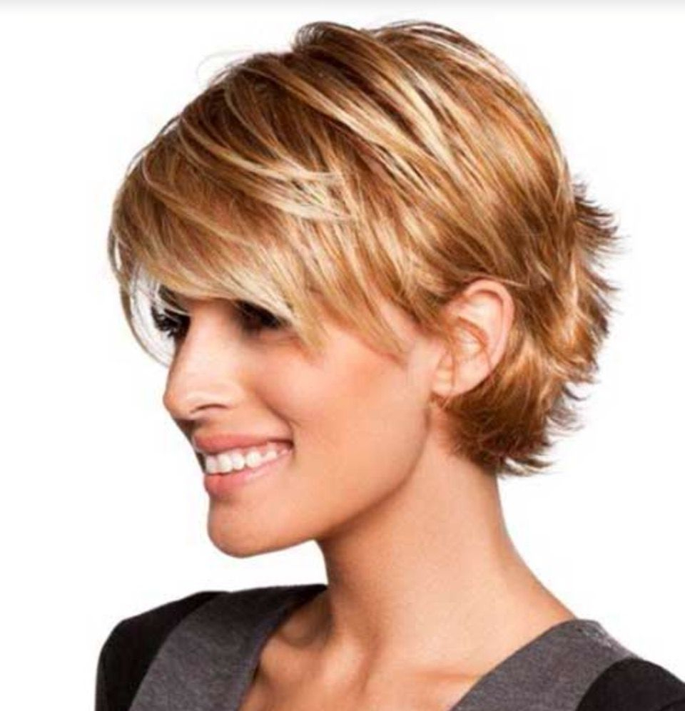 Long Layered Pixie Tucked Behind The Ears | Sassy Cuts~ In 2018 With Short Hairstyles Cut Around The Ears (View 23 of 25)