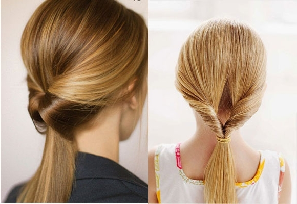 Long Ponytail Hairstyles – Style Samba Regarding Tangled And Twisted Ponytail Hairstyles (View 15 of 25)