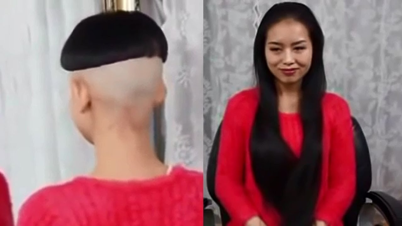 Long To Short Haircut Makeovers – Asian Girl's From Very Long Hair Pertaining To Short Hairstyle For Asian Girl (View 9 of 25)