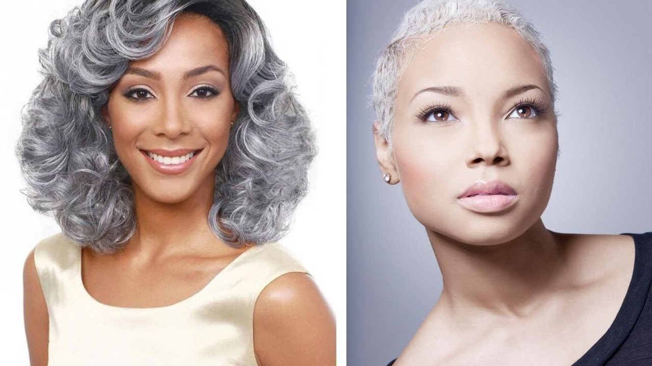 Look Beautiful Of 86 Natural Gray Hairstyles For Black Women, Try Inside Short Hairstyles For Black Women With Gray Hair (View 11 of 25)
