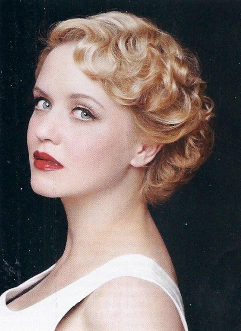 Look Differentapplying Vintage Hairstyles For Short Hair Throughout Vintage Hairstyle For Short Hair (View 3 of 25)