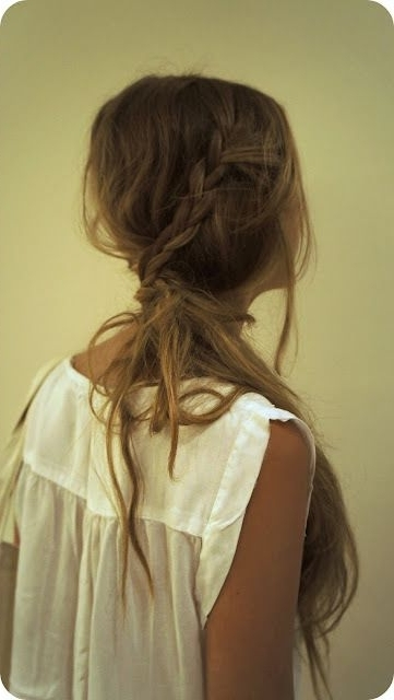 Loosely Braided Hair (View 22 of 25)