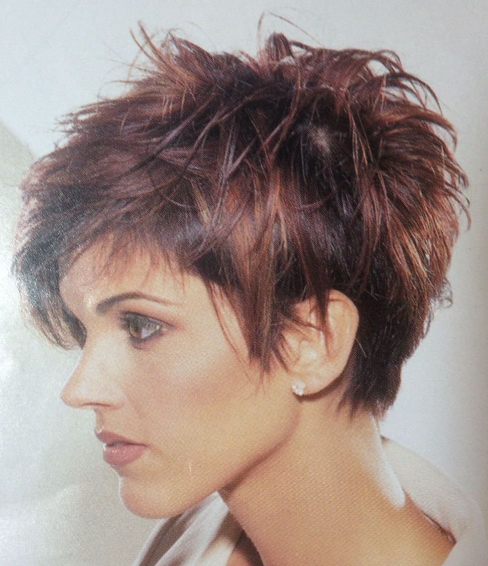 Love It! …   Short Curly Hairstyle In 2018… Regarding Edgy Short Haircuts (View 23 of 25)