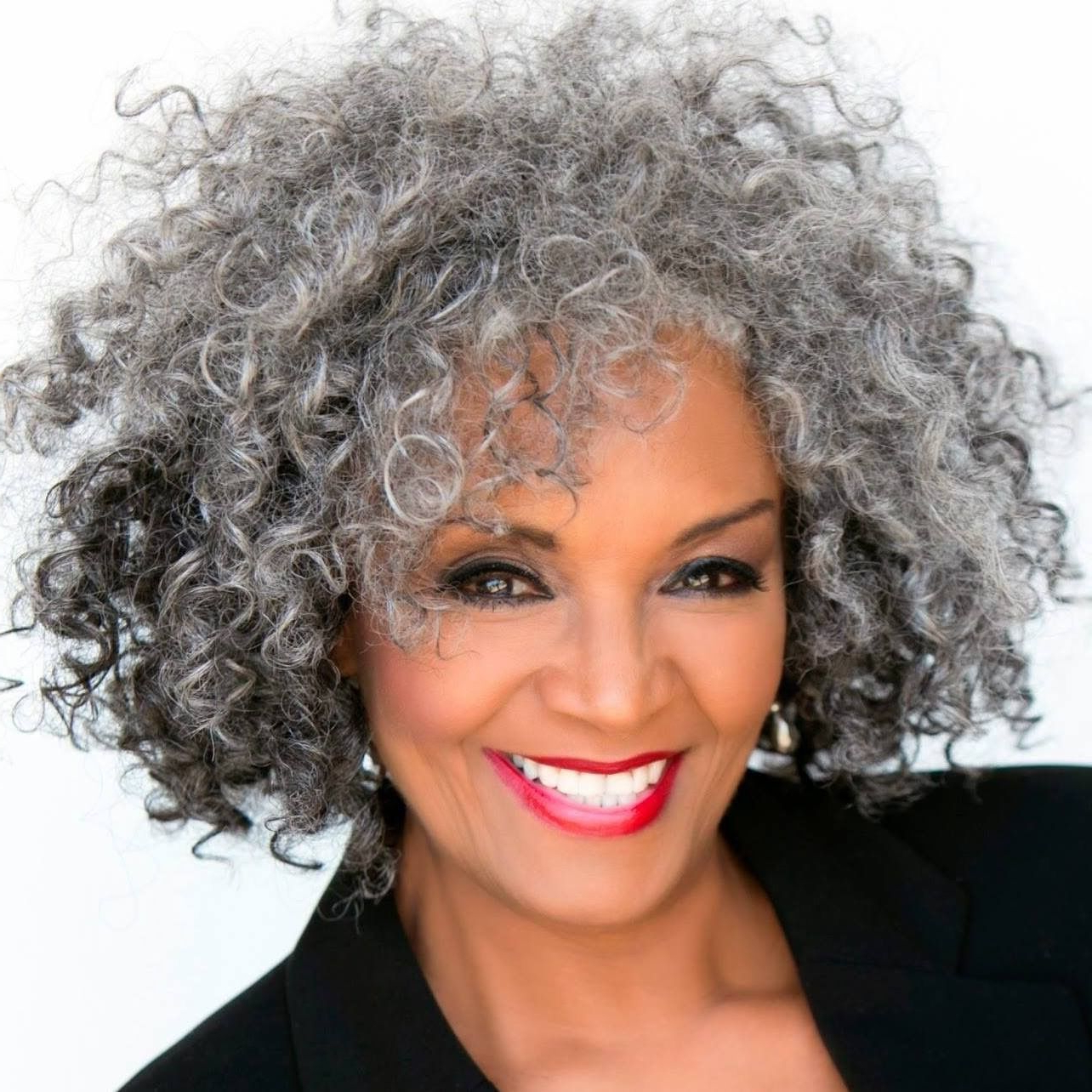 Love The Salt N Pepper Hair | Hairstyles In 2018 | Pinterest | Hair Inside Short Hairstyles For Black Women With Gray Hair (View 9 of 25)