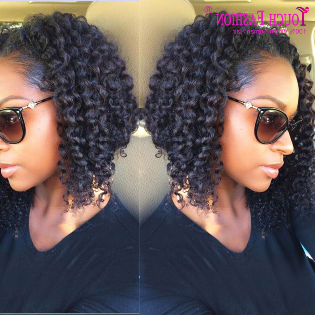Lovely 38 Photos Curly Weave Bob Hairstyles 2016 Throughout Short For Black Bob Short Hairstyles (View 24 of 25)