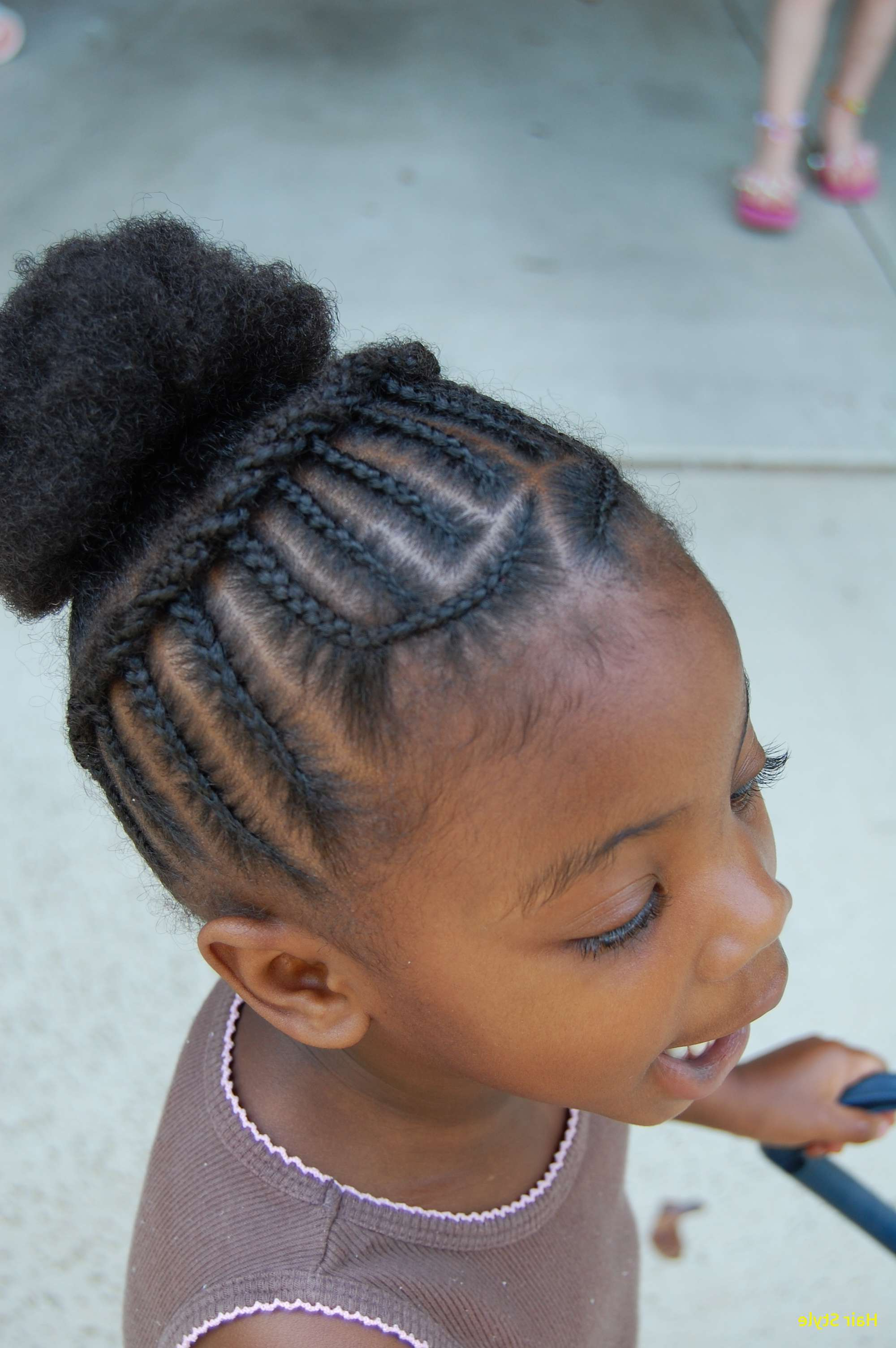 Lovely Cute Hairstyles For Little Girls | Best Hairstyles Within Black Little Girl Short Hairstyles (View 25 of 25)