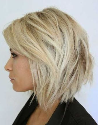 Low Maintenance Long Front Short Back Haircuts – Google Search Pertaining To Messy Choppy Layered Bob Hairstyles (View 23 of 25)